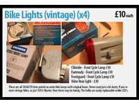 Bike Lights (vintage) (x4)