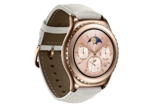 Samsung Gear S2 Classic Smartwatch 40mm Stainless Steel Rose Gold SM-R7320ZDAXAR