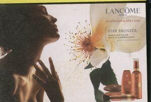 RECLAME-0042-LANCOME-STAR-BRONZER-maquillage-promocard-cartolina