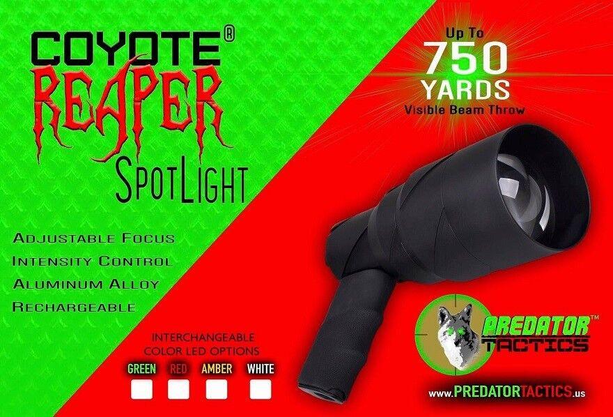 New Predator Tactics Coyote Reaper SpotLight 2 Color Red Gre