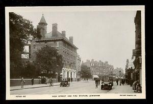 London-Kent-LEWISHAM-High-St-Fire-Station-RP-PPC-local-pub-W-G-Carter