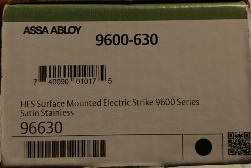 ASSA ABLOY HES 9600 12/24V Electric Strike (9600-630)