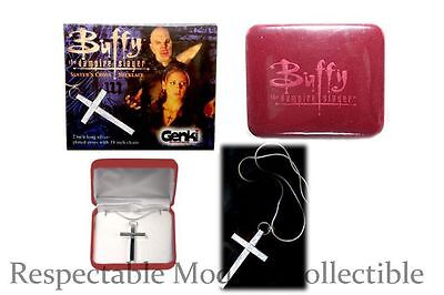SLAYERS CROSS NECKLACE PROP REPLICA JEWELRY BUFFY THE VAMPIRE SLAYER COLLECTIBLE