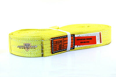 Ee2-902 X20ft Nylon Lifting Sling Strap 2 Inch 2 Ply 20 Foot Usa Package Of 2