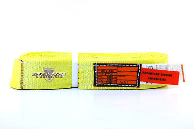 Ee2-902 X10ft Nylon Lifting Sling Strap 2 Inch 2 Ply 10 Foot Usa Package Of 4