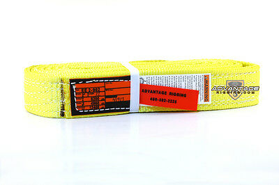 Ee2-902-12 Nylon Lifting Sling Strap 2 Inch 2 Ply 12 Foot Feet Length