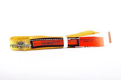 Ee2-901-4 Nylon Lifting Sling Strap 1 Inch 2 Ply 4 Foot Feet Length