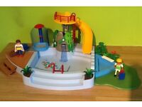 Playmobil Swimming Pool with Slide 4858