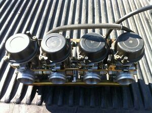 GSXR1100 40mm VERY RARE CARBURETORS FROM 93-97 Windsor Region Ontario image 2