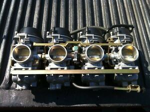 GSXR1100 40mm VERY RARE CARBURETORS FROM 93-97 Windsor Region Ontario image 4