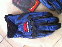 NEW SUZUKI LEATHER GLOVES SIZE M L XL & XXL