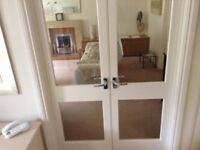 Double casement doors. Free