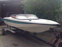 Boat 15 ft speedboat