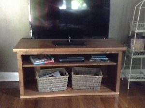 Solid Maple TV Stand