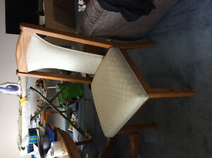 Dining room table and 4 chairs for sale. Needs to go today