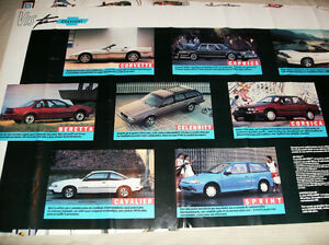 CHEVY AND PONTIAC 1987-89 POSTERS Cornwall Ontario image 5