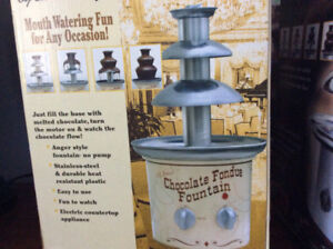 Chocolate Fondue Fountain(s) - Great Deal!