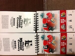 Mooseheads 2 adult tickets Feb 20th