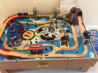 Light & Sound Train Set & Table