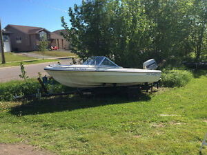 70 HP Evinrude Boat and Motor