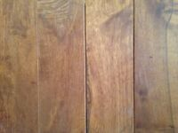Solid hardwood flooring 80 SF + BRAND NEW IN BOX