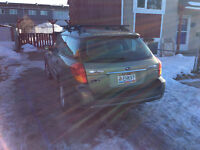 2007 Subaru Outback Green Wagon