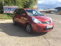 Nissan Note 1.4 16v 2012MY N-TEC + FINANCE THIS CAR TODAY WITH NO DEPOSIT