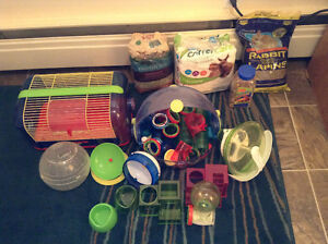 2 Hamster Cages and Accessories