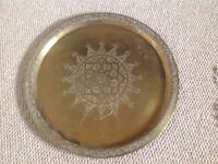 EUC Brass Plate