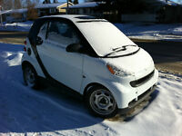 2008 Smart Car Fortwo Pure Coupe - White