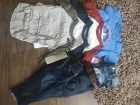 3-6 month boy clothes bundle