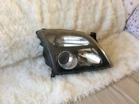 Pair of headlights for vectra