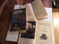 3 old fishing books