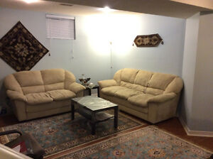 Bright 2 bed rooms Basement, Separate Entrance, cover Parking W