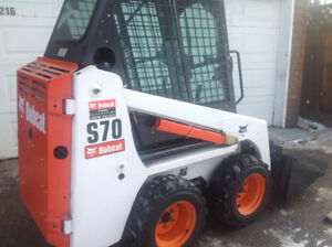 2009 S70 BOBCAT  only  71 hrs !!!!!