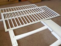 OBaby Cot/Cotbed (white)