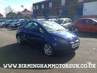 2007 (57 Reg) Mitsubishi Colt 1.5 TURBO CZC 2DR Convertible BLUE + LOW MILES