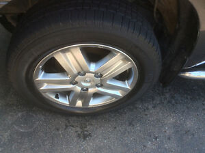 "Set of  Four 20"" Tires on Rims ."