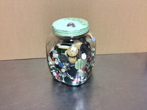 Old Buttons with Old Jar