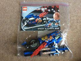 Lego blue speed slammer bike