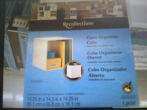 Craft  storage cube units from recollection Kitchener / Waterloo Kitchener Area image 2