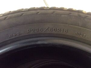 18 inch tires. 235-60-18