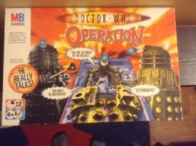 Doctor Who Dalek operation game