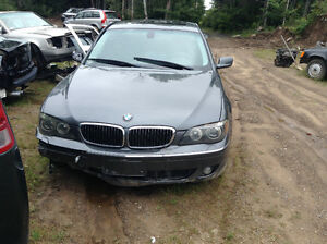 2006  BMW 750 IL PARTING OUT