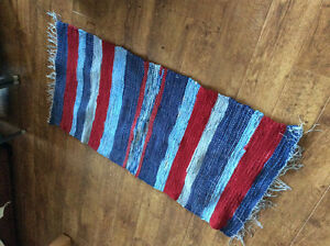 Handcrafted rag rug