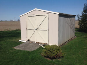 NEED OLD SHED REMOVED