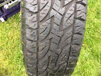 Van tyre as new 205x70x15