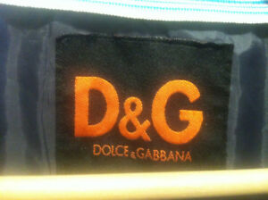 D&G DOLCE AND GABBANA SPRING JACKET MINT COND $150