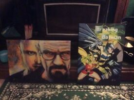 Breaking bad canvas x 2