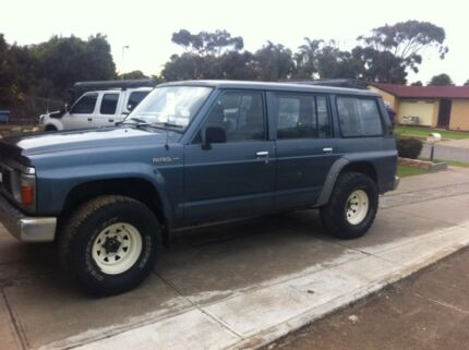 GQ Nissan patrol  rb30 duel fuel or swap for a boat or of interest  Port Noarlunga Morphett Vale Area Preview
